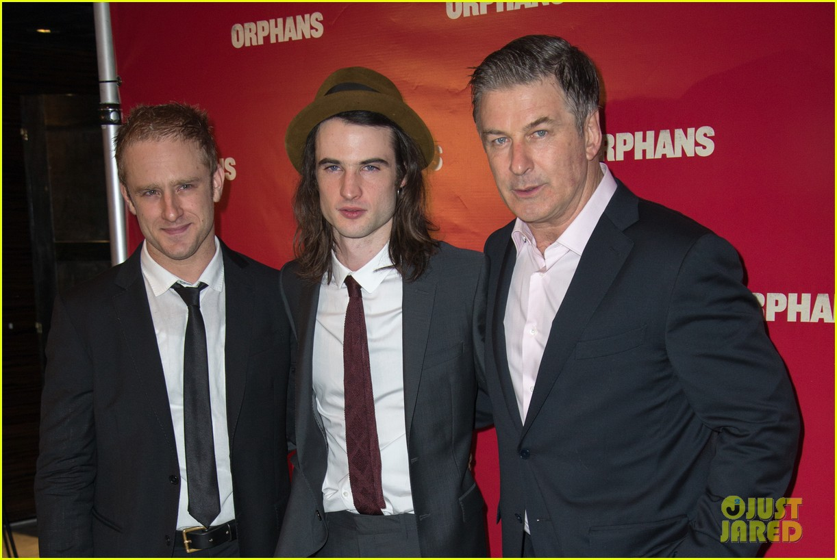 ben foster tom sturridge orphans broadway opening 112853609