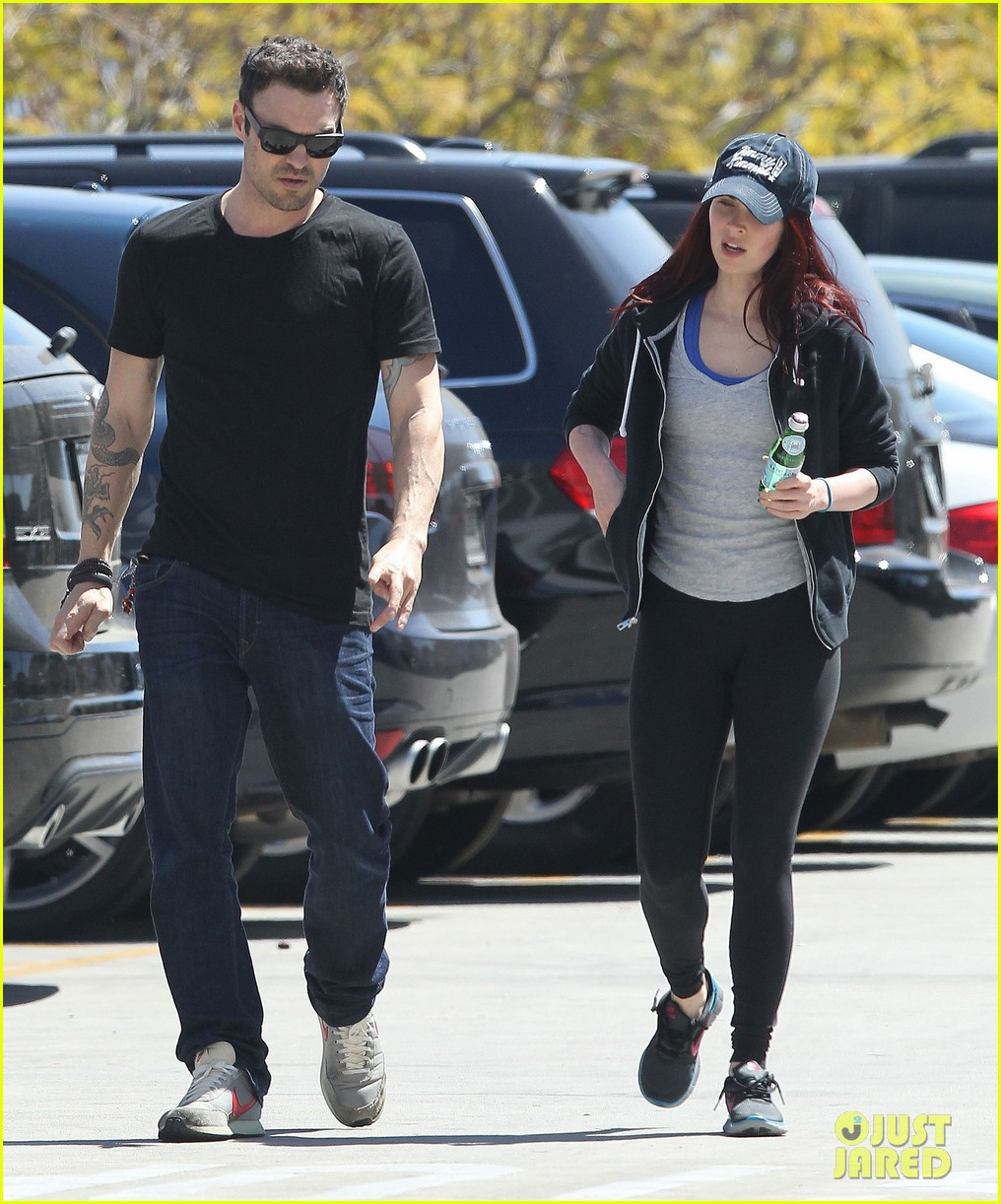 megan fox brian austin green sunday lunch lovebirds 11