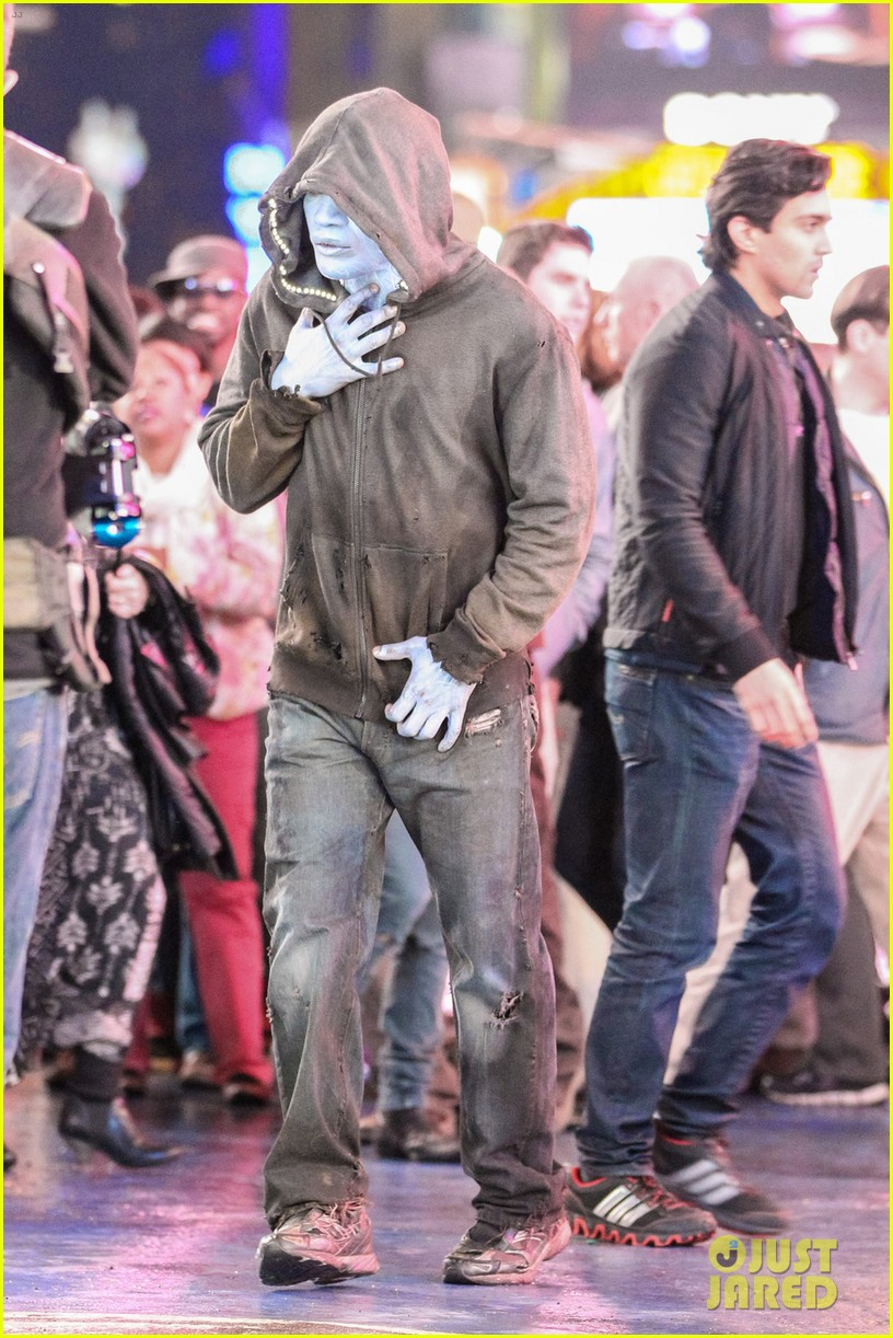 jamie foxx as electro in amazing spider man 2 first look 012851283