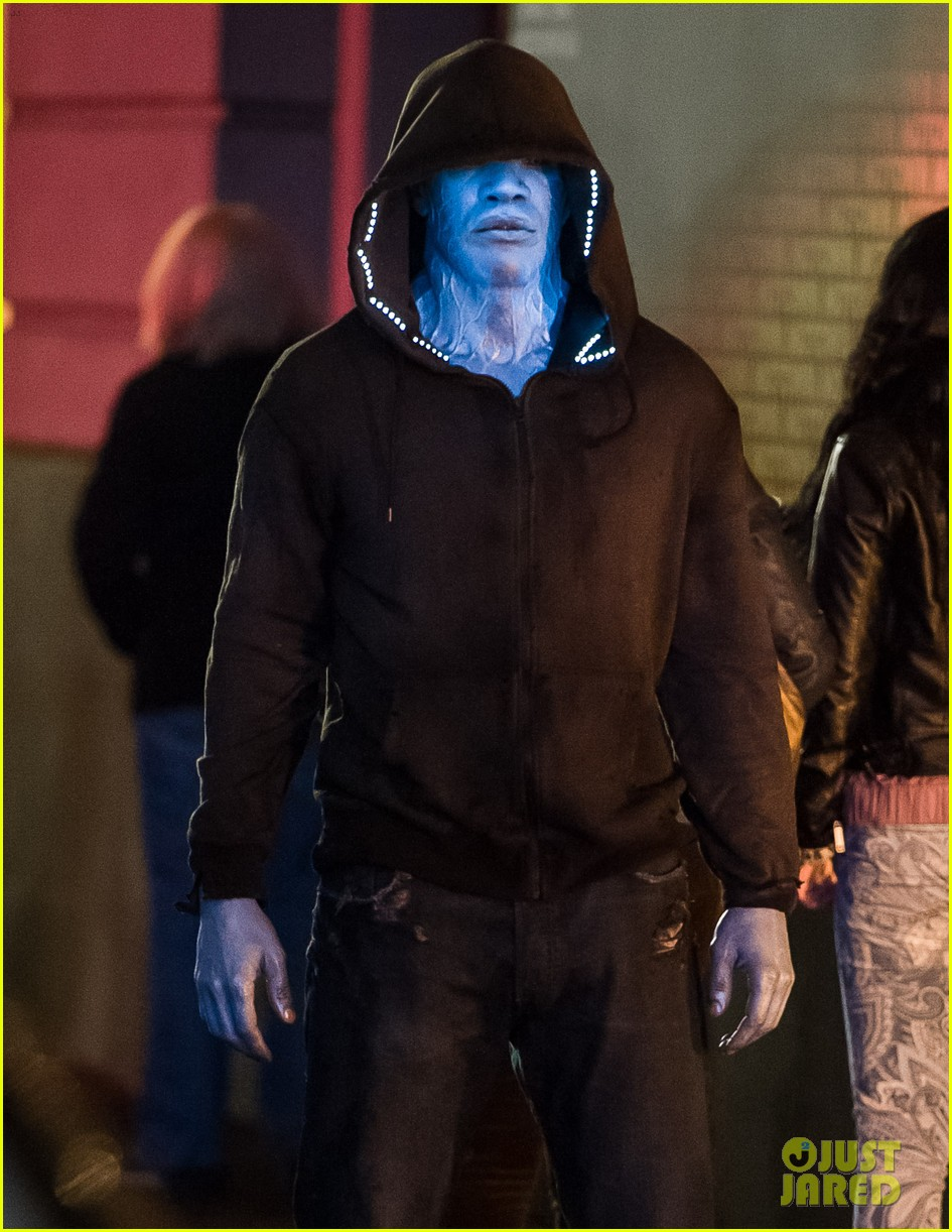 jamie foxx as electro in amazing spider man 2 first look 02
