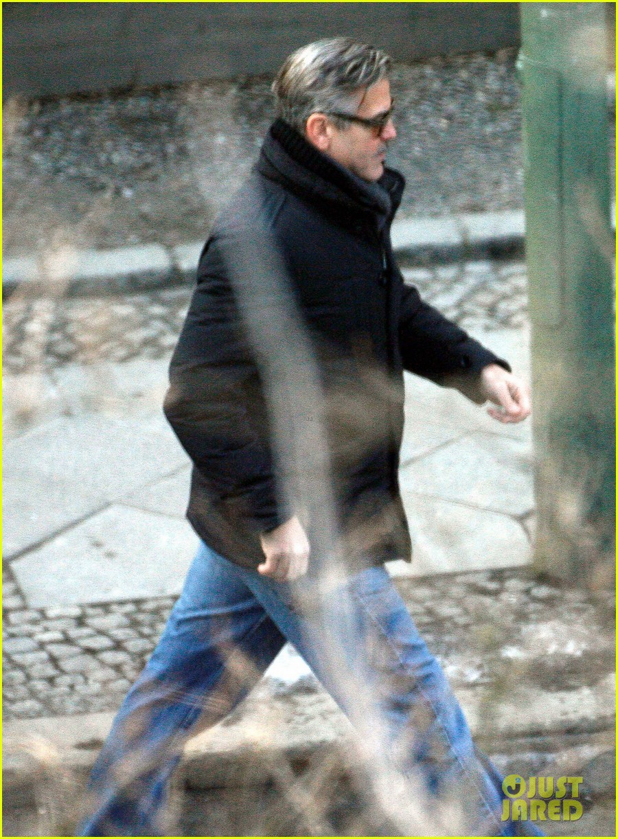 george clooney matt damon the monuments men in berlin 29
