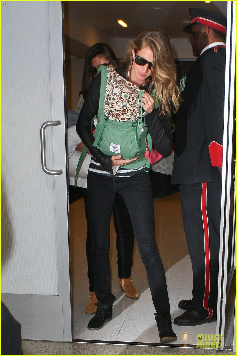 gisele bundchen vivian lax departure after earth day 08