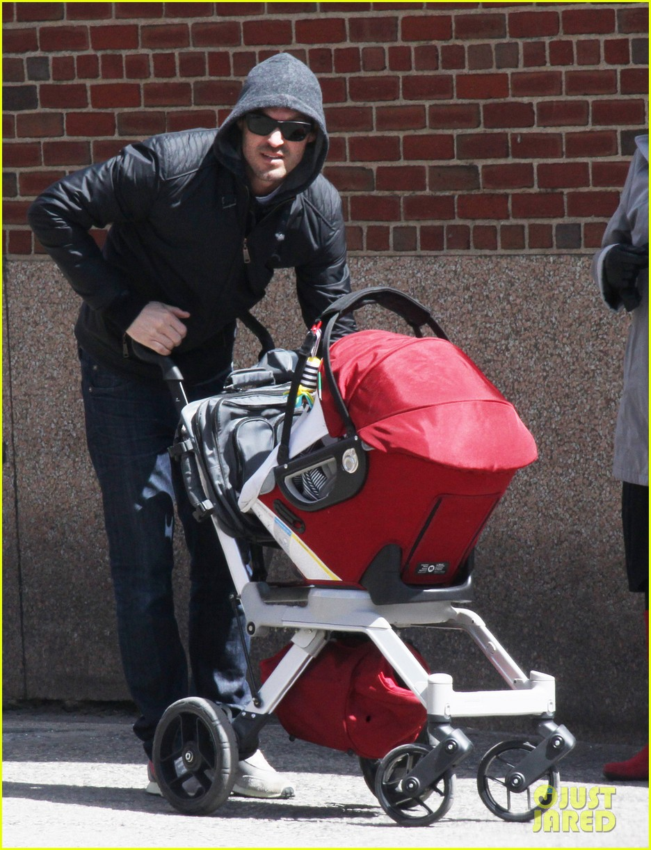 brian austin green sunny spring stroll with noah 01