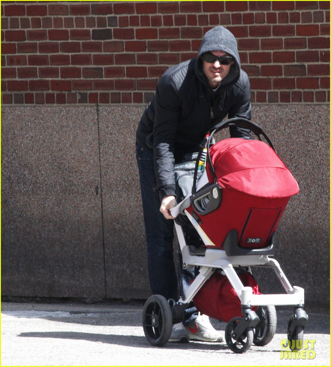 brian austin green sunny spring stroll with noah 05