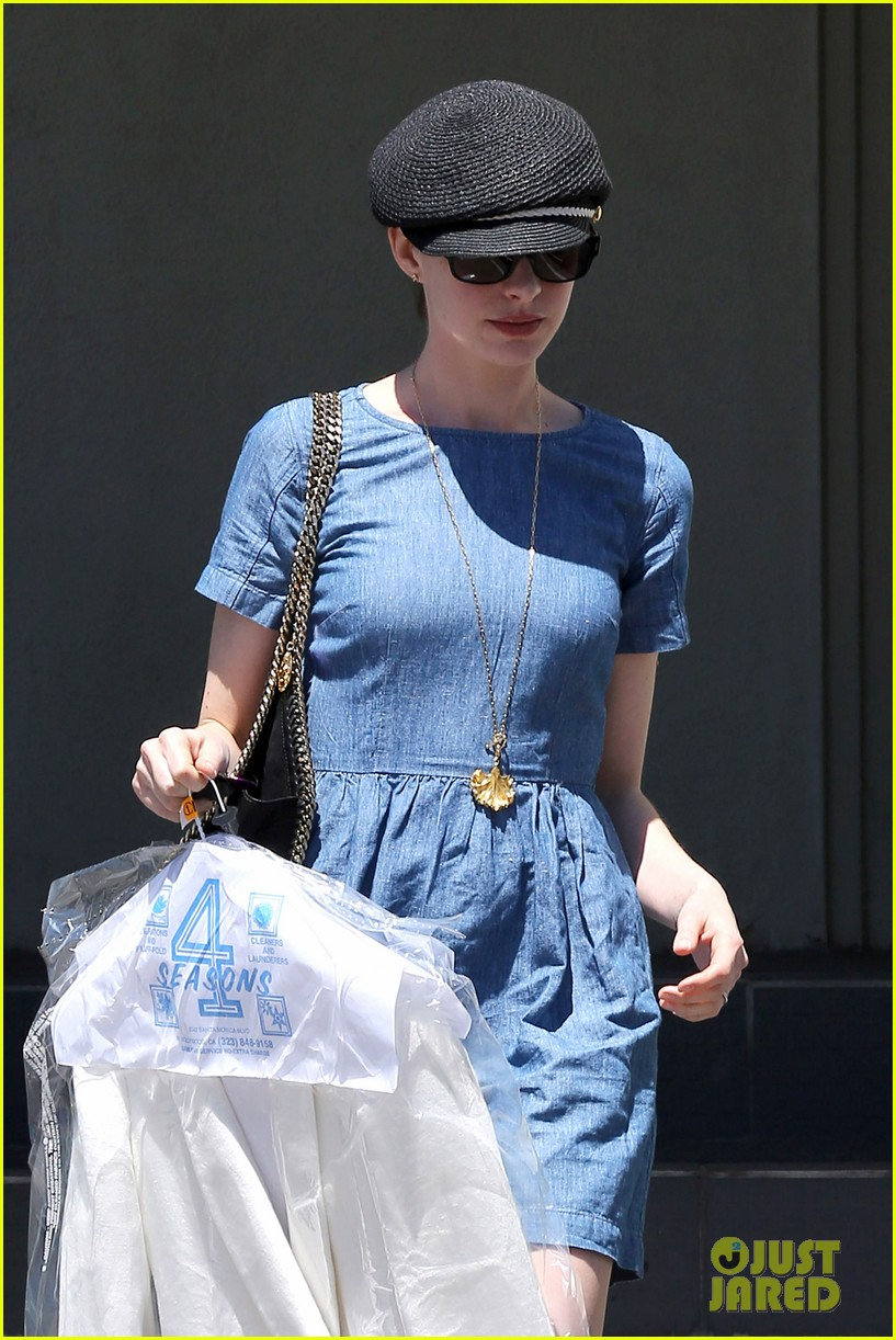 anne hathaway dry cleaning pick up 102852695