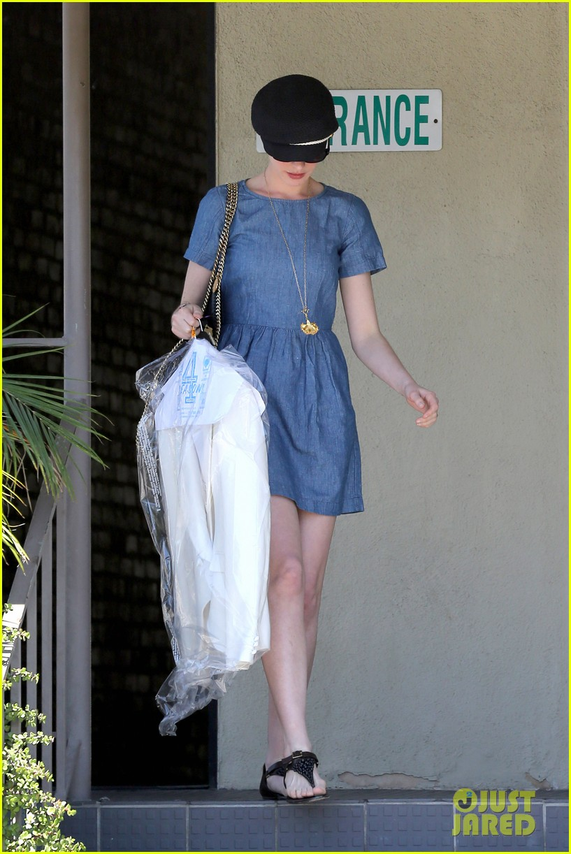 anne hathaway dry cleaning pick up 24