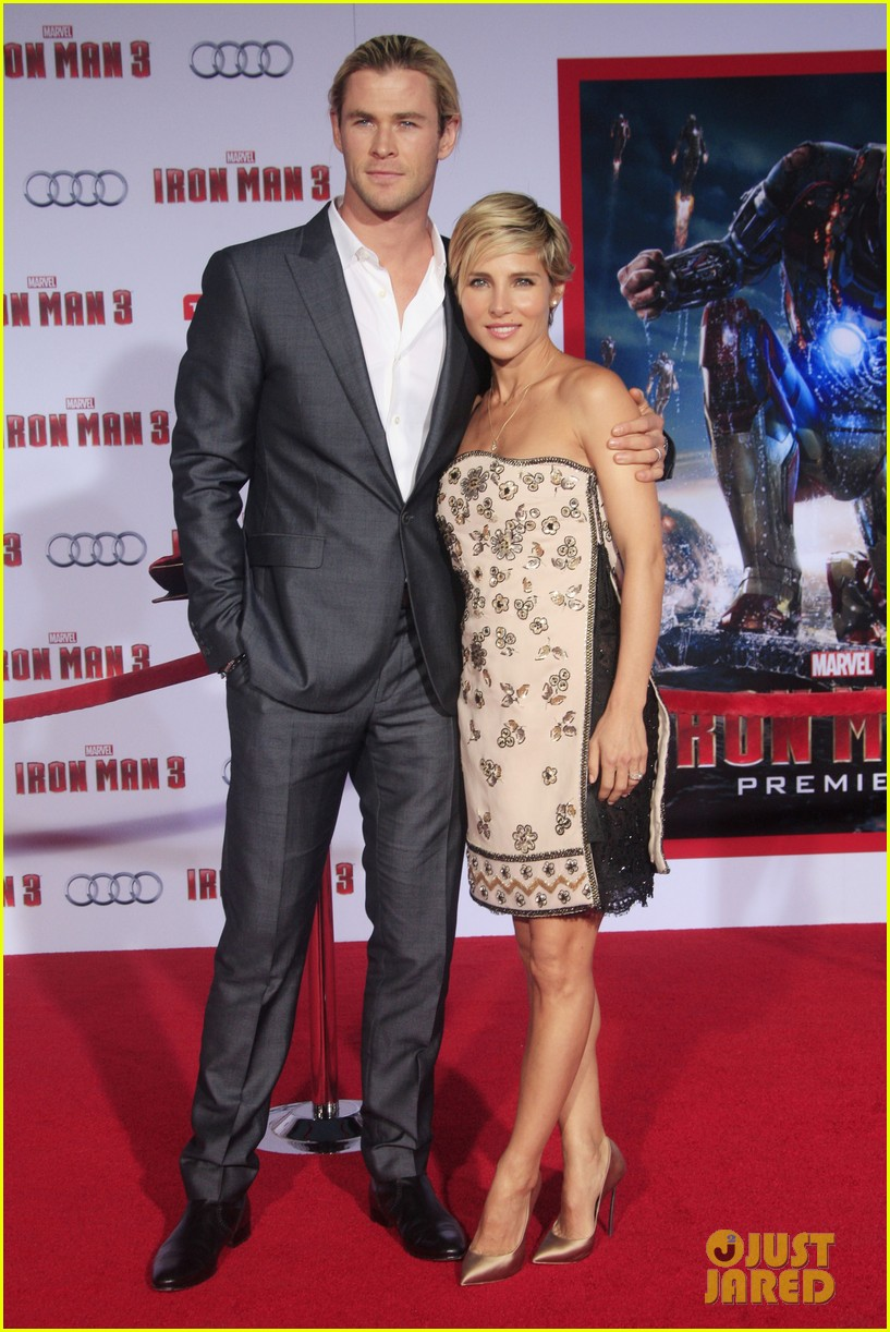chris hemsworth tom hiddleston iron man 3 premiere 05