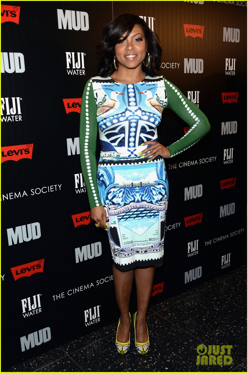 taraji p henson sterling beaumon mud nyc screening 012855507