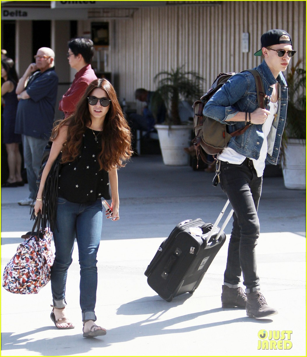 vanessa hudgens austin butler take flight in burbank 03
