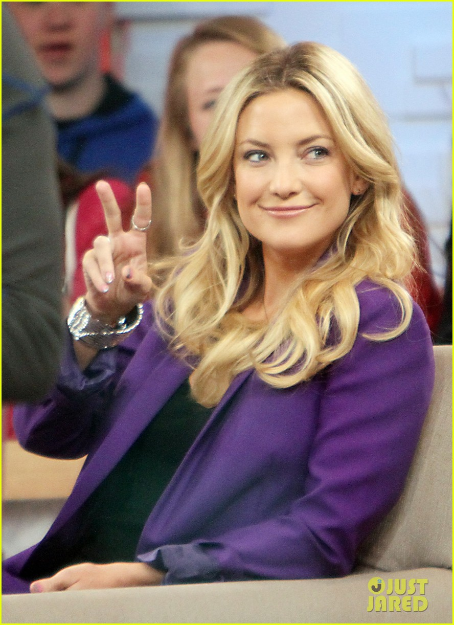 kate hudson good morning america appearance 152856570