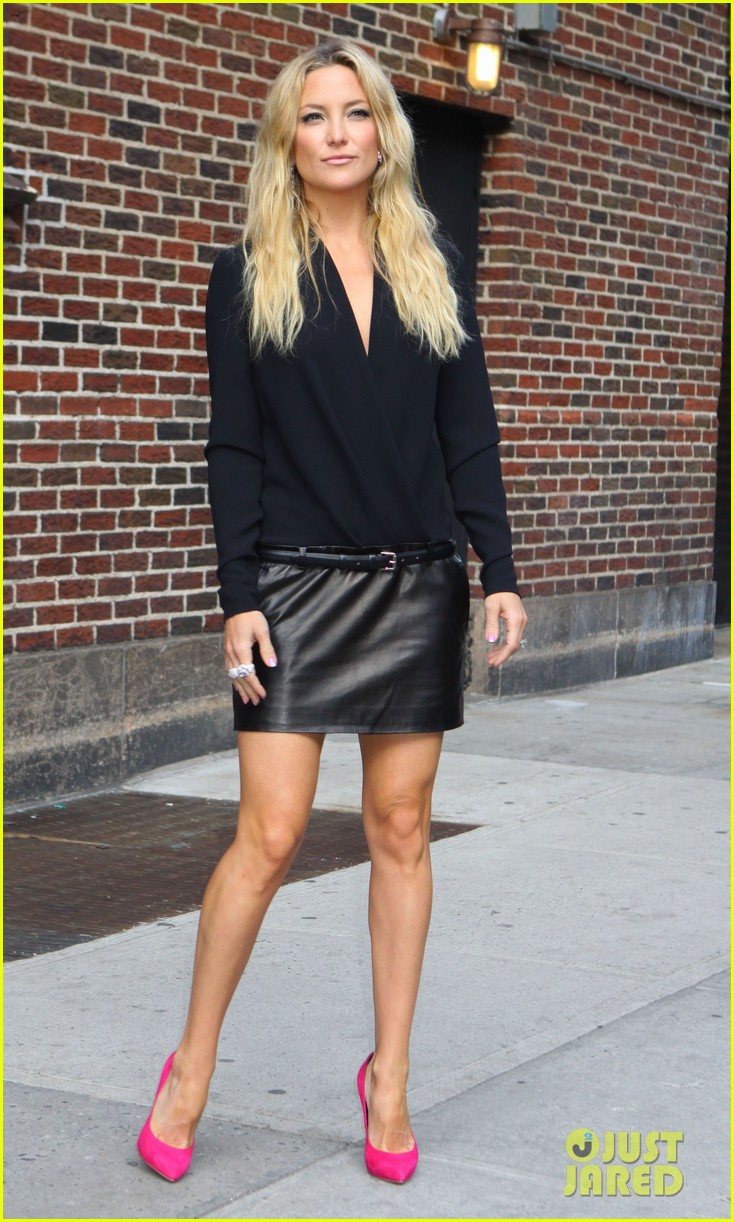 kate hudson late show with david letterman 09