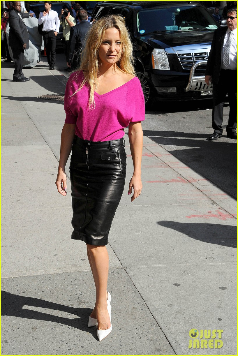 kate hudson late show with david letterman 25