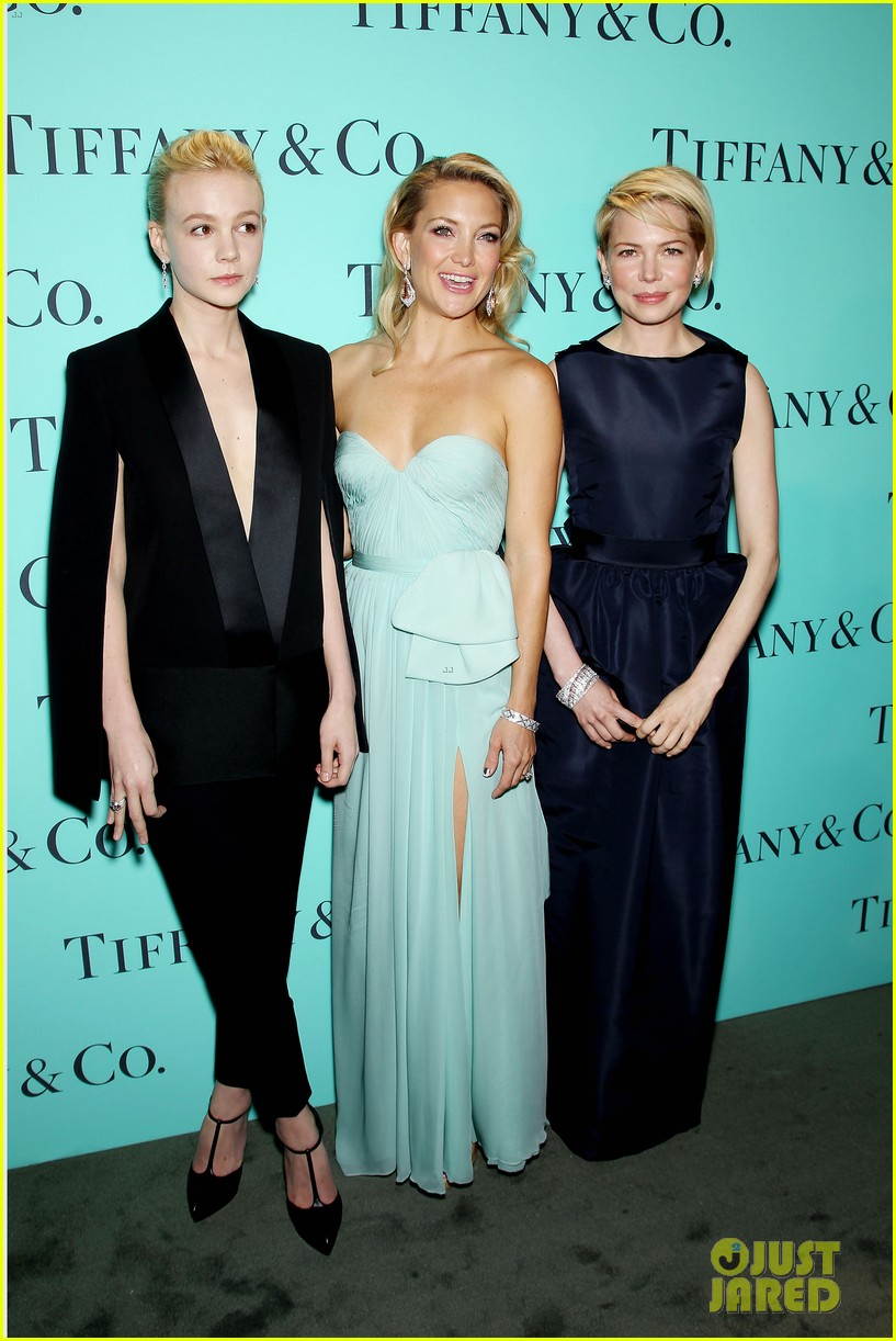 kate hudson carey mulligan tiffany blue book gala 242853109
