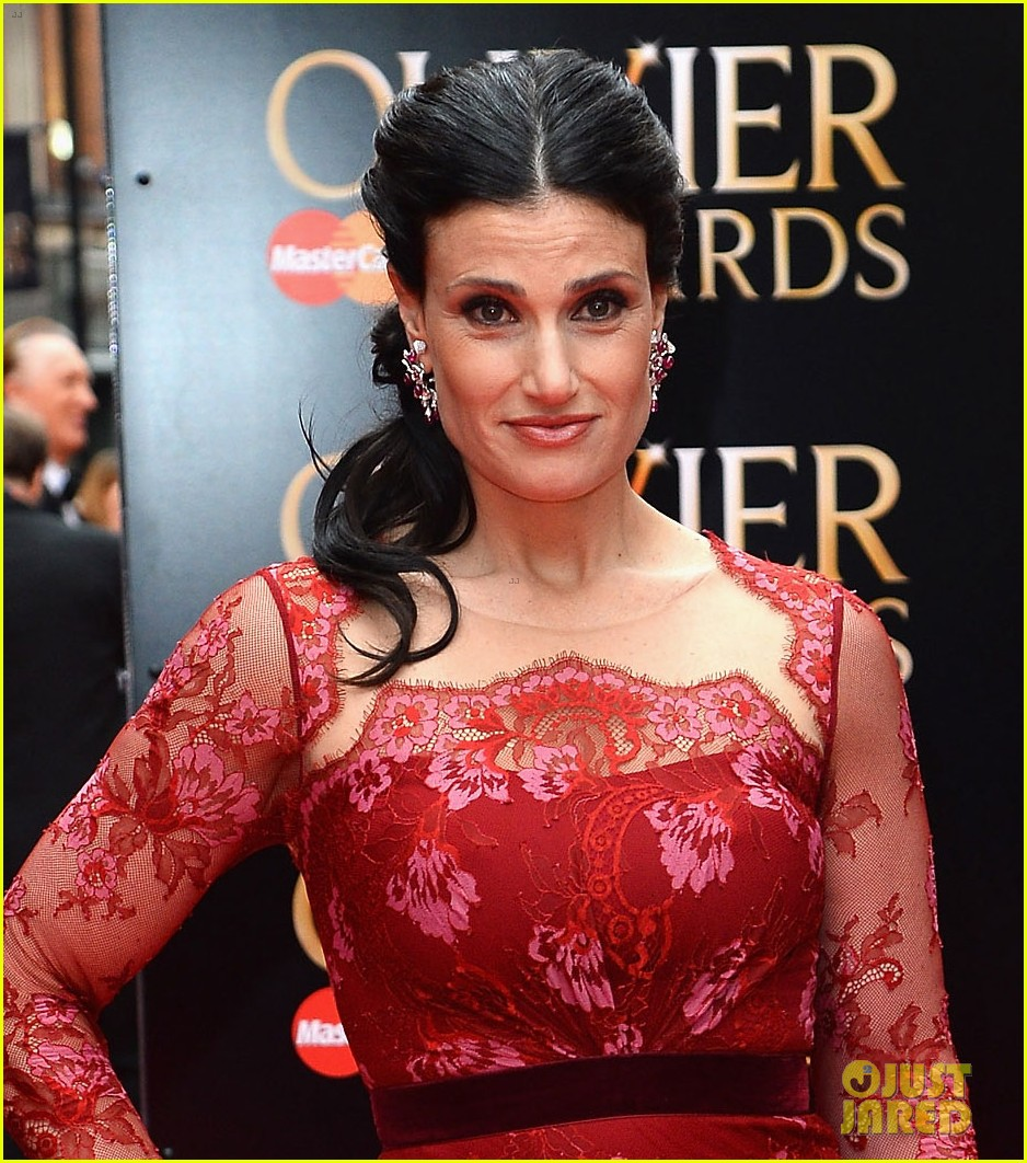 idina menzel 2013 olivier awards red carpet performance 022860323