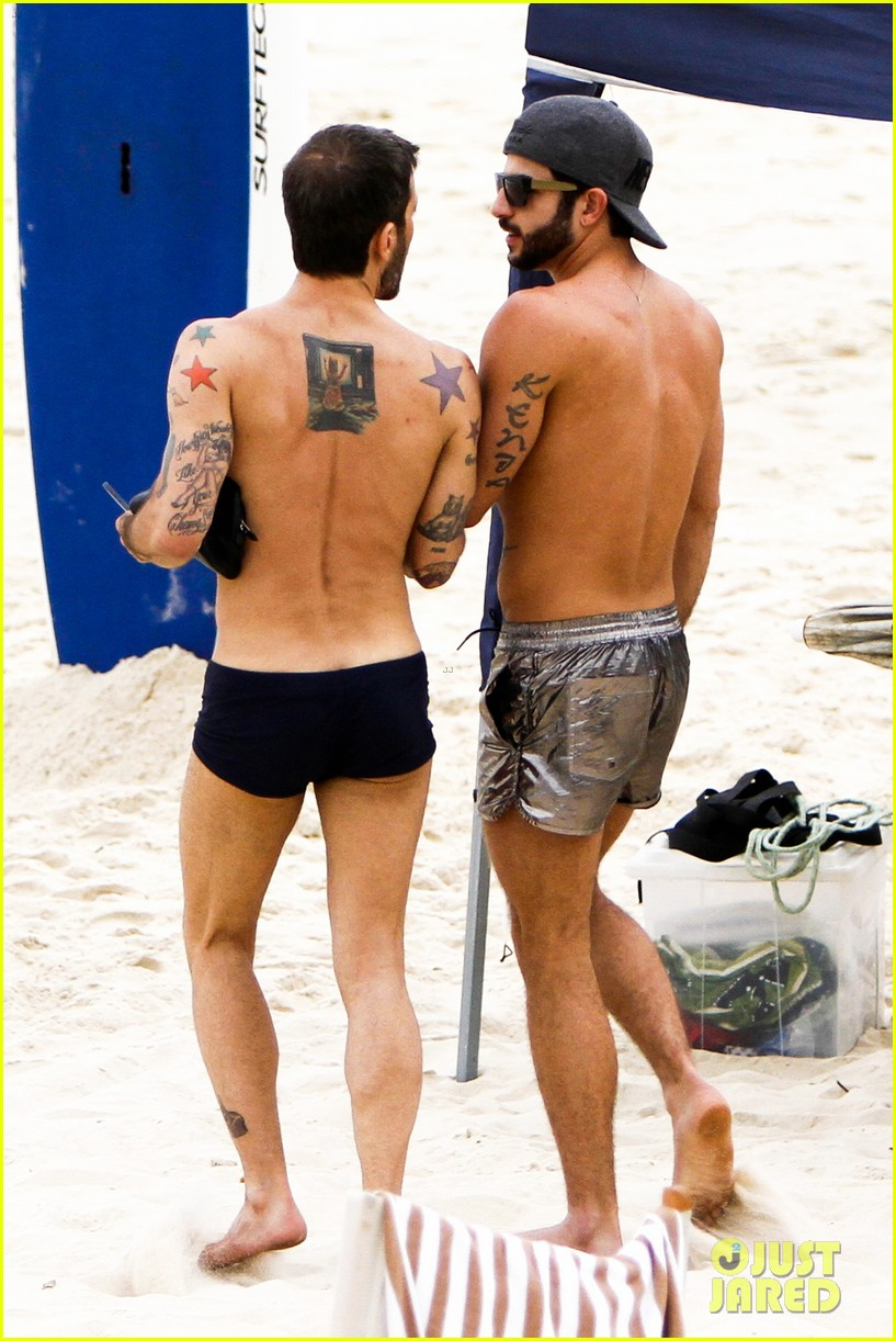 marc jacobs harry louis shirtless sexy in rio 102847148