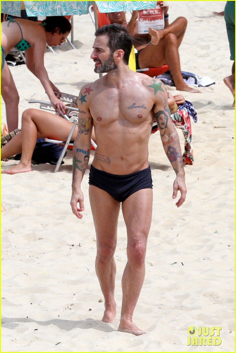 marc jacobs harry louis shirtless speedo pda in rio 01