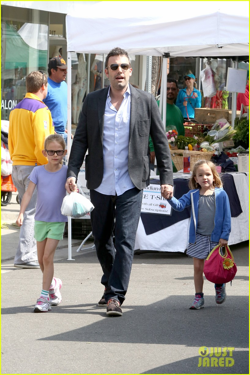 ben affleck jennifer garner track meet with the girls 29