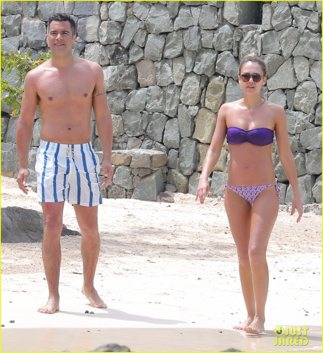 jessica alba purple bikini pretty 042844913