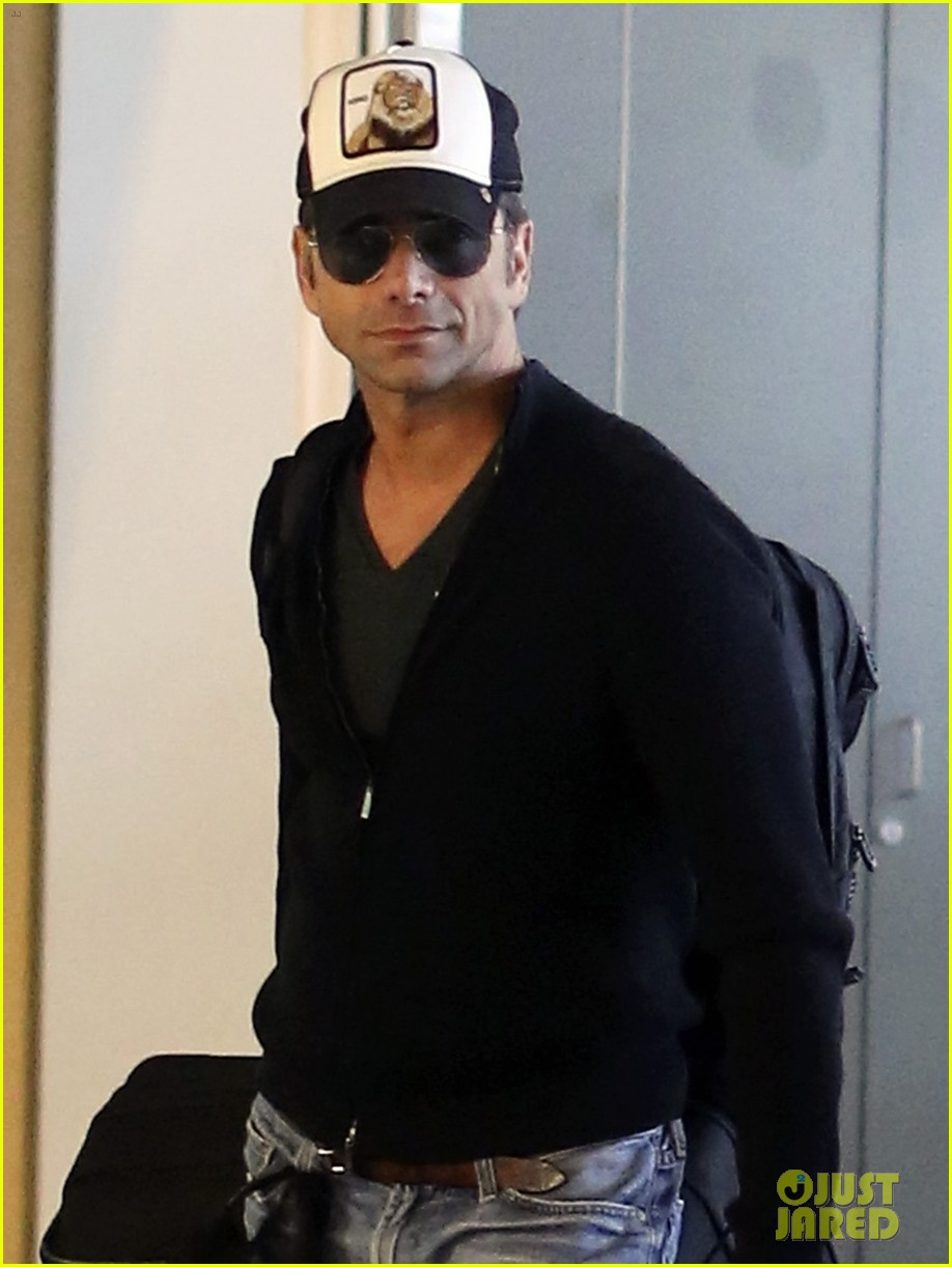 john stamos back to la with angela sarafyan 10
