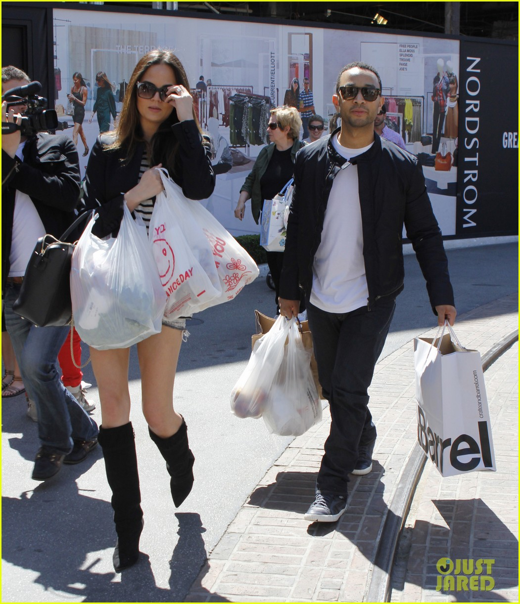 chrissy teigen john legend the grove couple 032841009