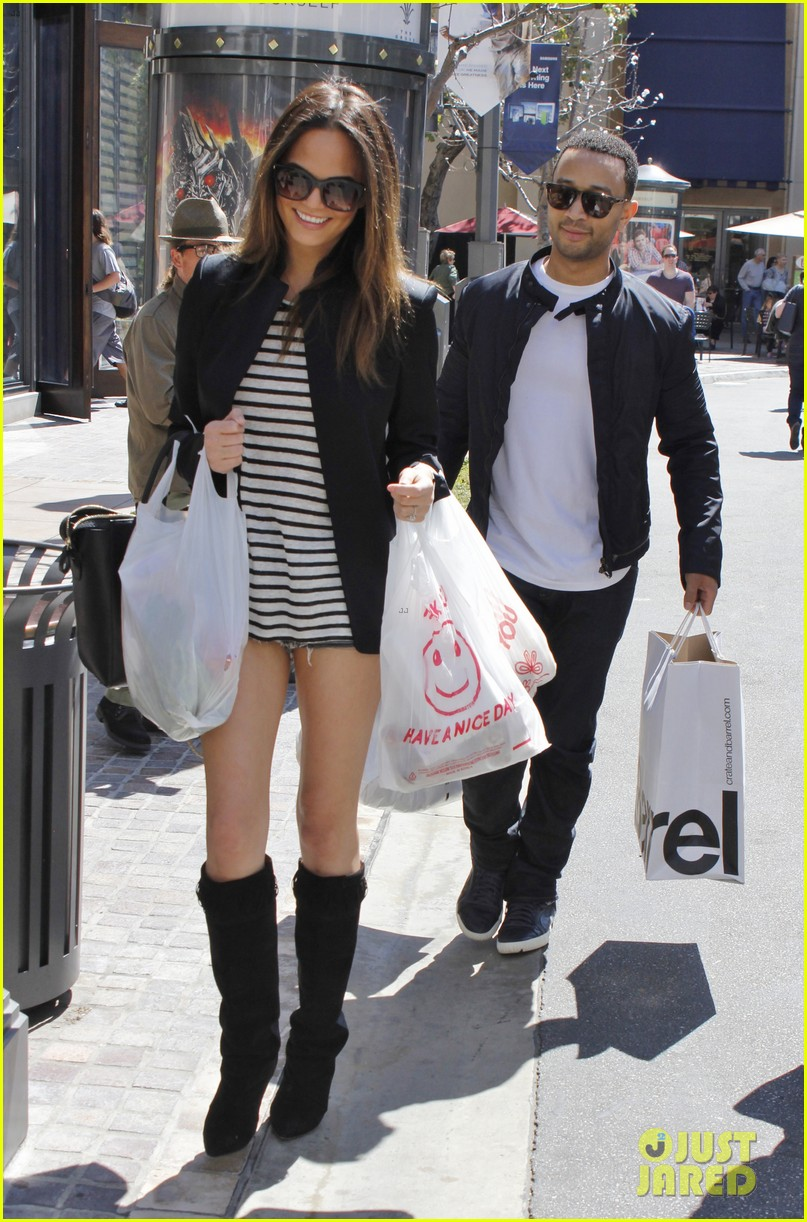 chrissy teigen john legend the grove couple 052841011