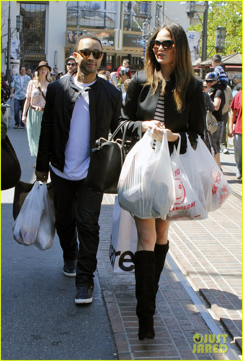 chrissy teigen john legend the grove couple 082841014