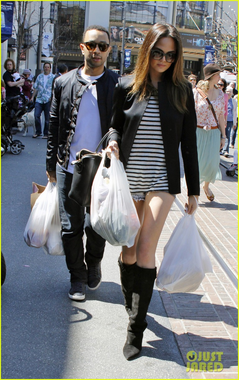 chrissy teigen john legend the grove couple 112841017