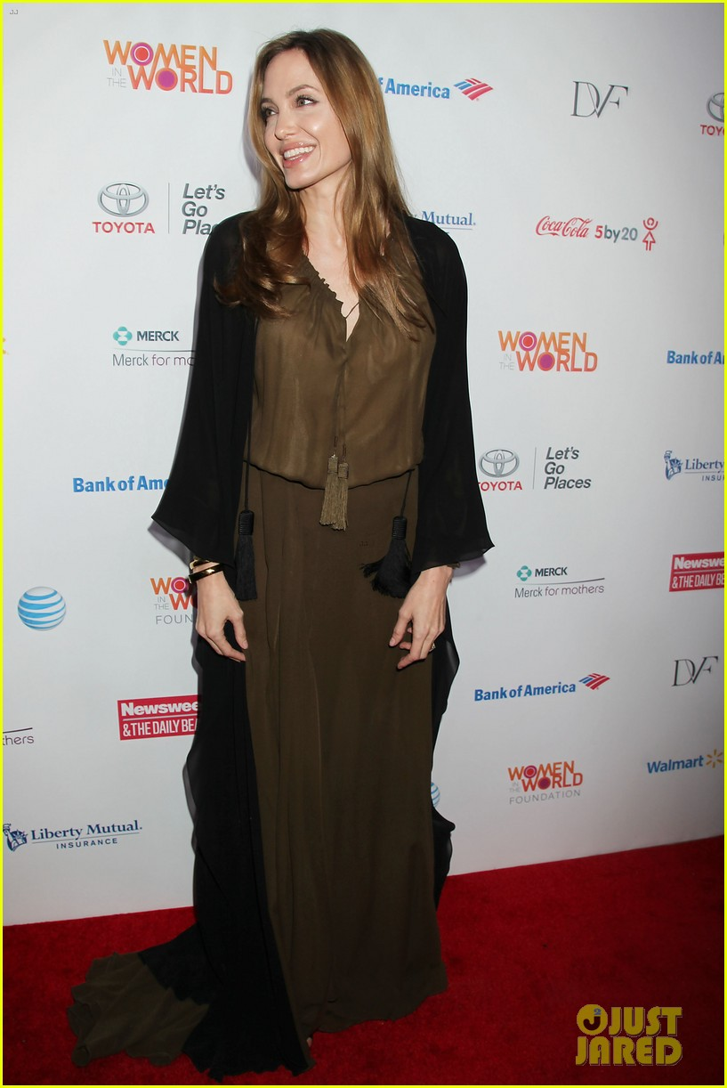 angelina jolie women in the world gala at lincoln center 2013 03
