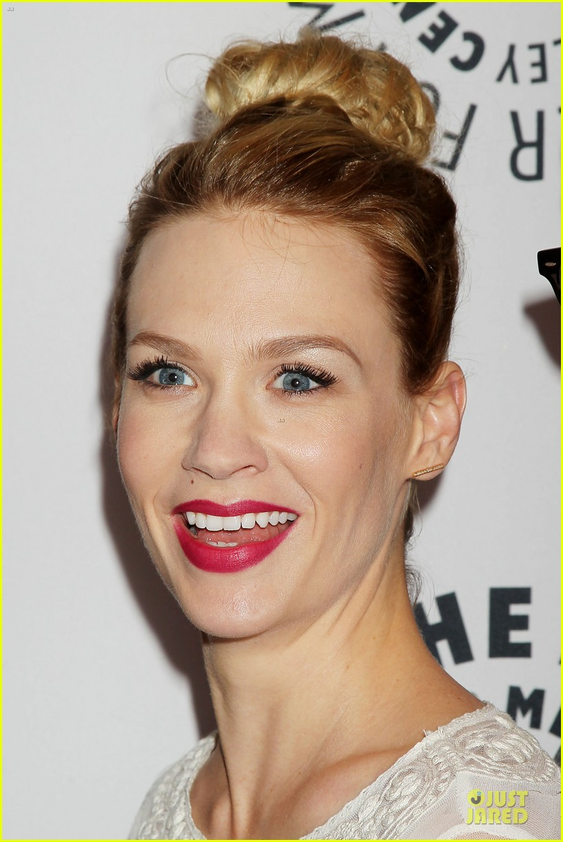 january jones jon hamm mad men paley presentation 312856800