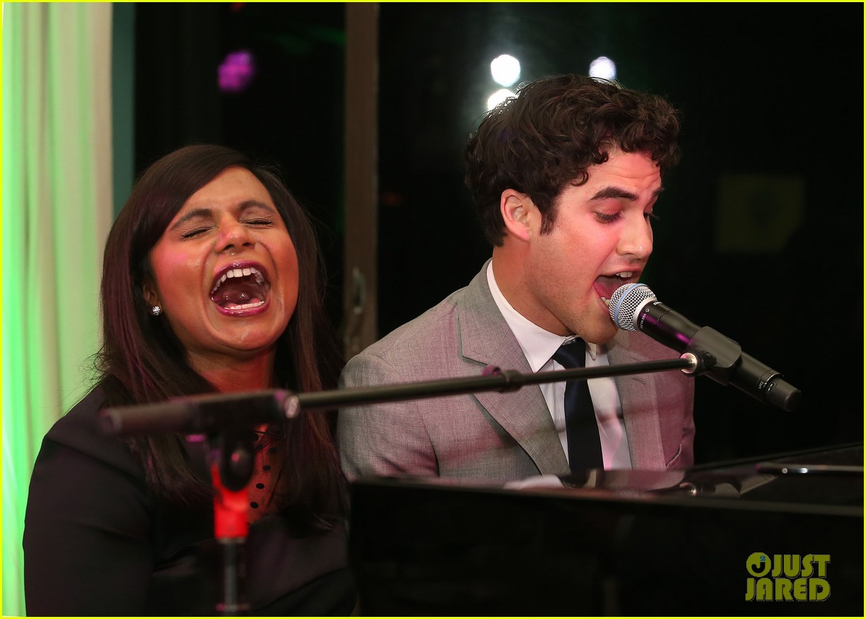 mindy kaling darren criss verde grades of green fundraiser 022848179
