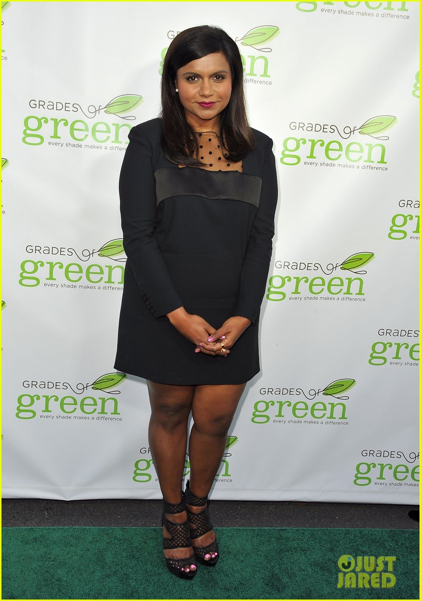 mindy kaling darren criss verde grades of green fundraiser 142848191