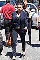 kim kardashian bares pregnant tummy in belly shirt 09