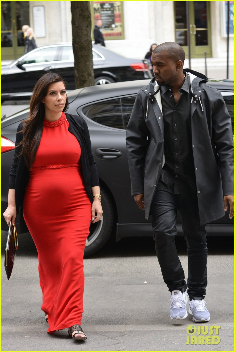 kim kardashian kanye west reunited in paris 26
