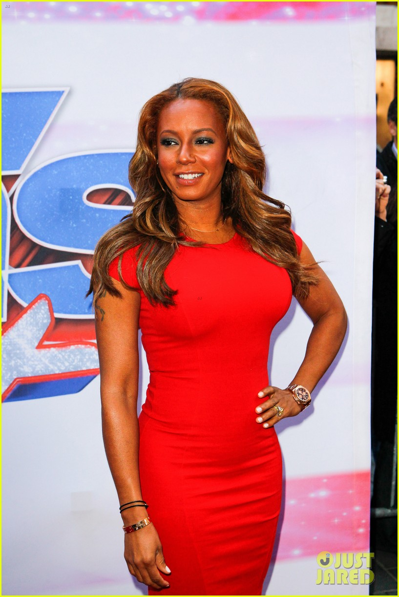 heidi klum mel b americas got talent in new york 19