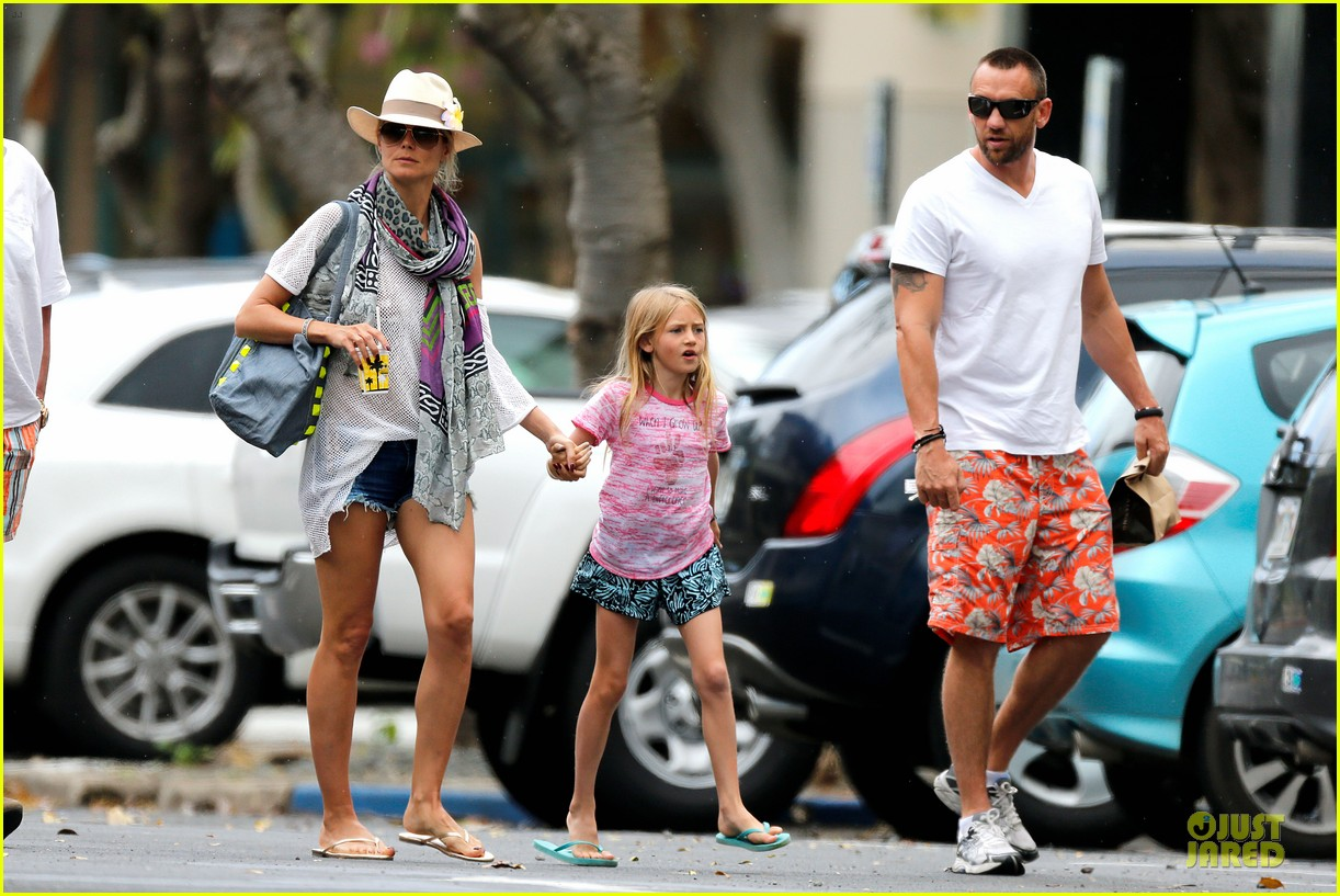 heidi klum family back in l a after hawaii drowning save 282842228