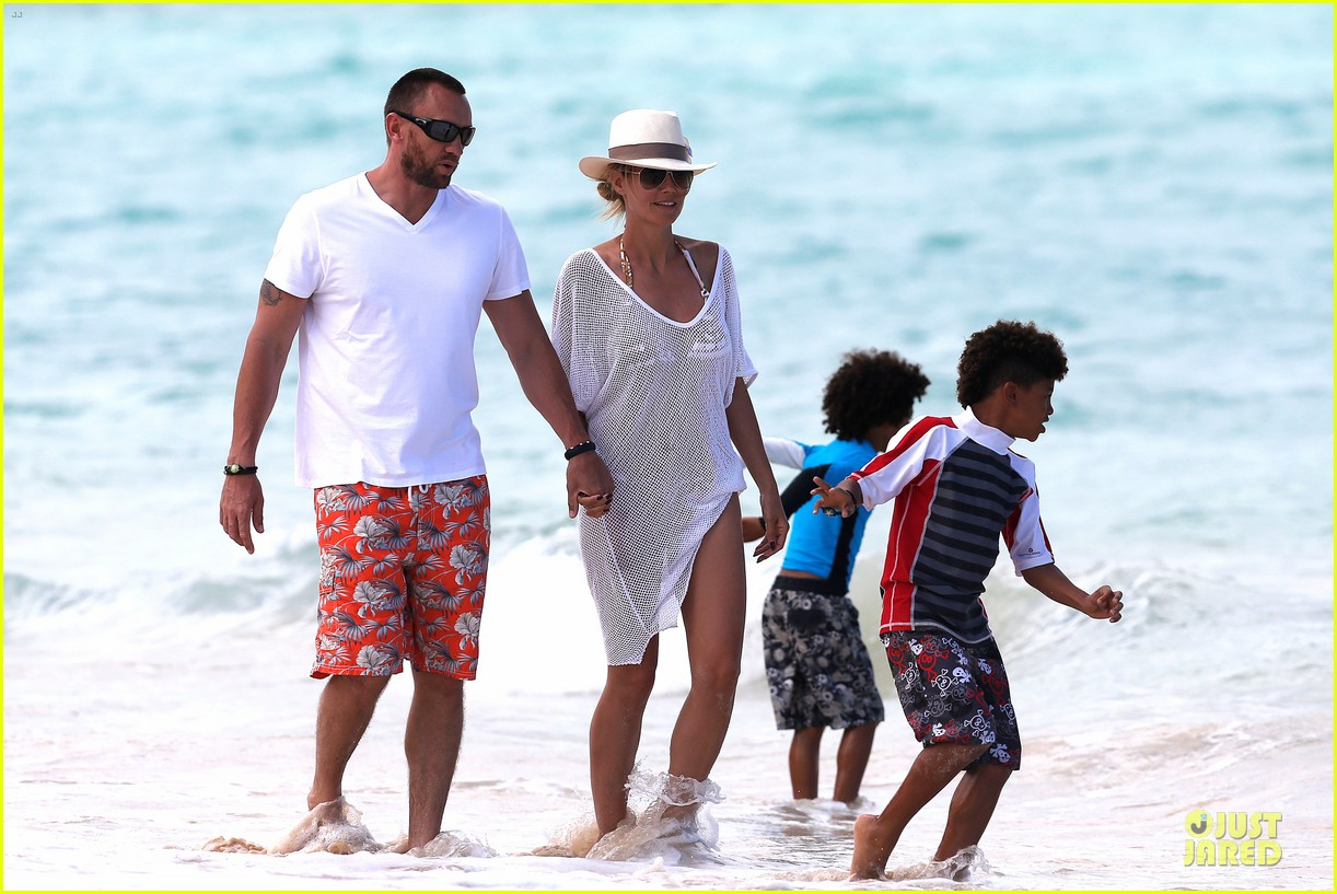 heidi klum family back in l a after hawaii drowning save 29