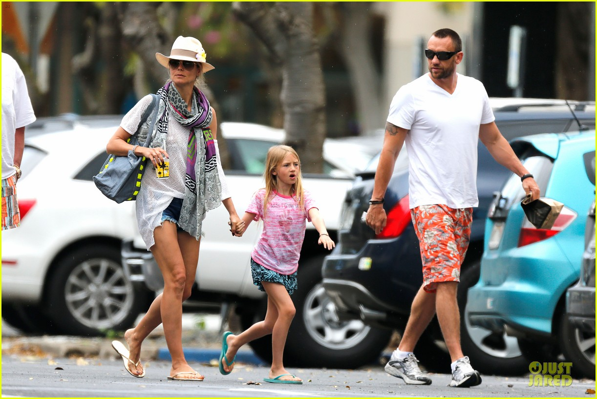 heidi klum family back in l a after hawaii drowning save 30