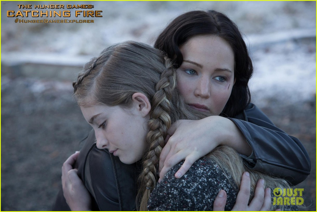 jennifer lawrence willow shields new catching fire still2847208