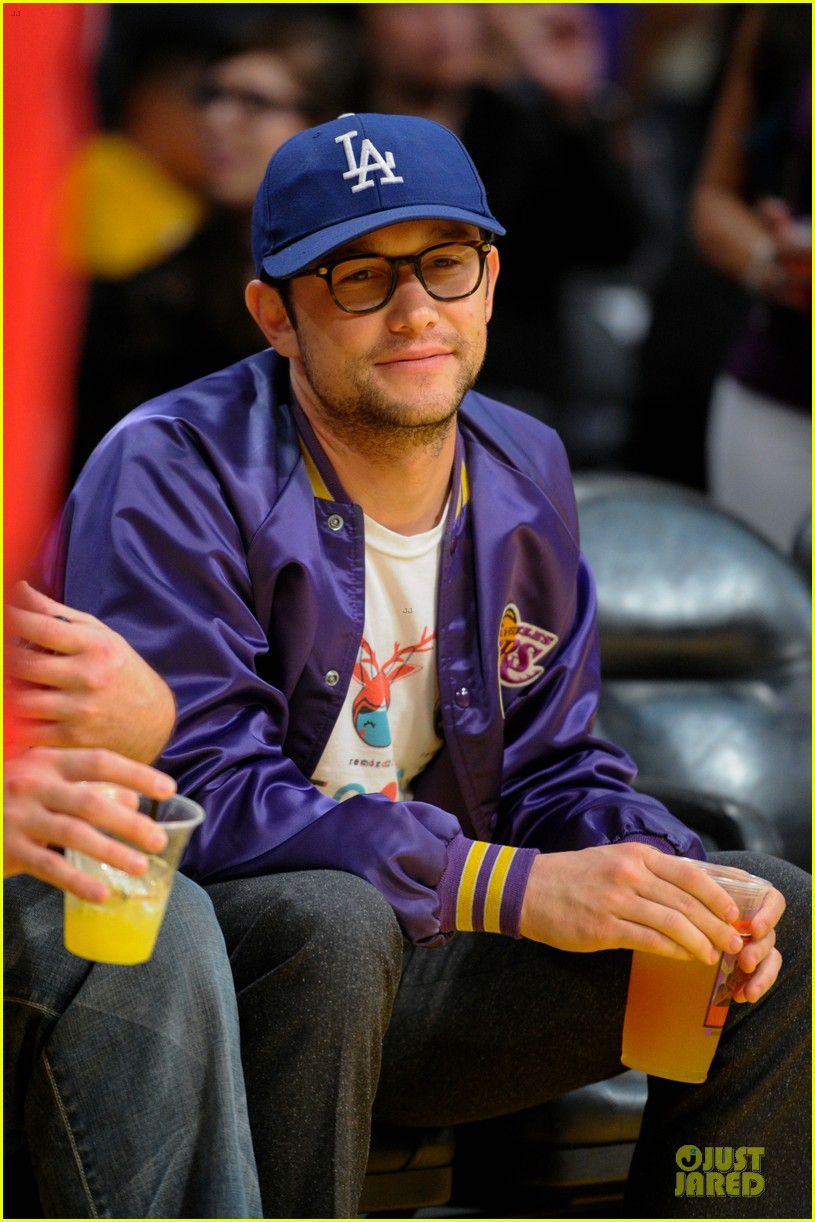 joseph gordon levitt los angeles lakers playoff game 042859150