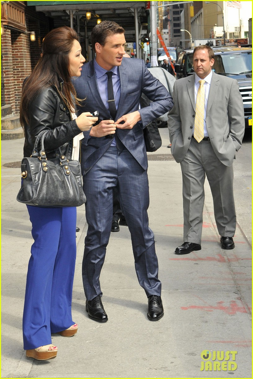 ryan lochte late show with david letterman visit 04