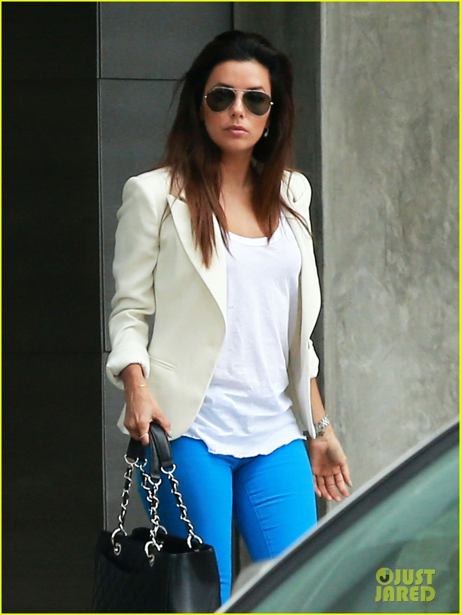 eva longoria errands before food chains fundraiser 10