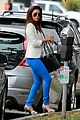 eva longoria errands before food chains fundraiser 07