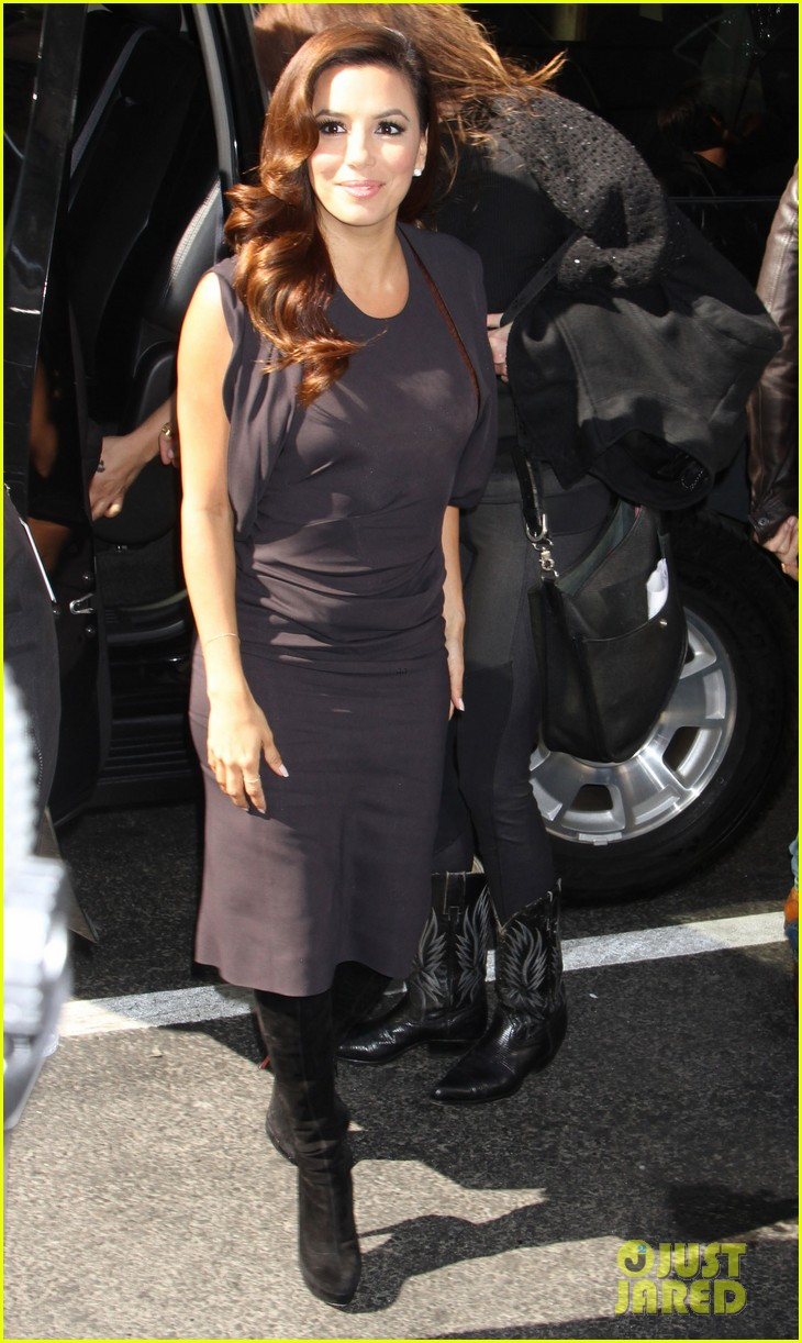 eva longoria morning show appearance in new york city 052845682
