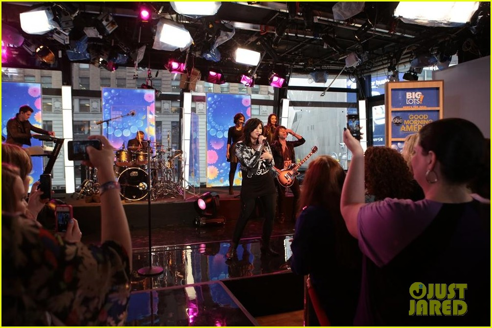 demi lovato heart attack on gma watch now 122846867