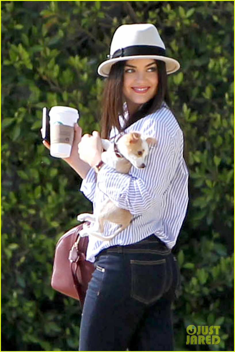 lucy hale photo shoot pretty with puppy 042844851