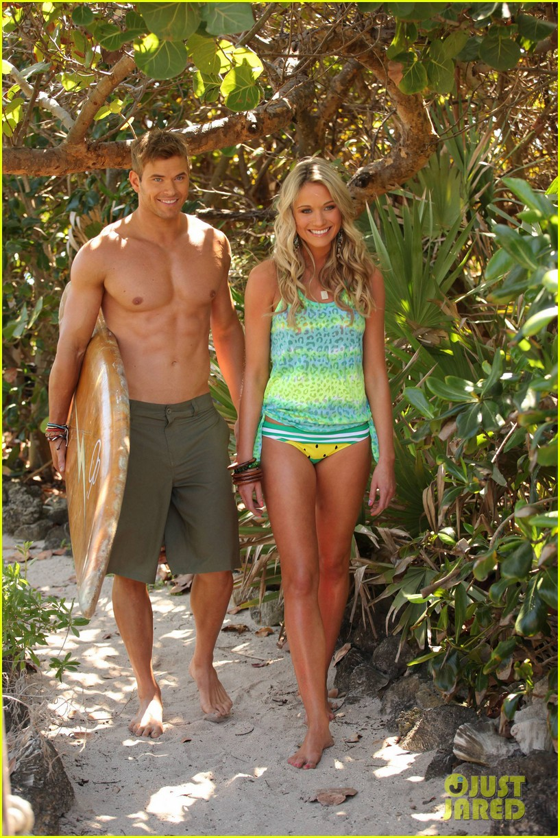 kellan lutz shirtless op campaign with bikini katrina bowden 112846885