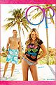 kellan lutz shirtless op campaign with bikini katrina bowden 04