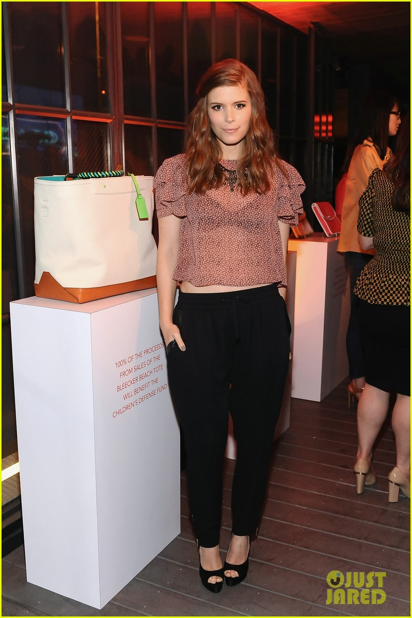 kate mara max minghella coach night of shopping 01