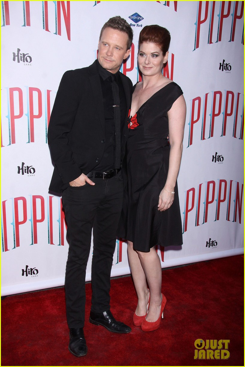 ricky martin debra messing pippin broadway opening 012858255