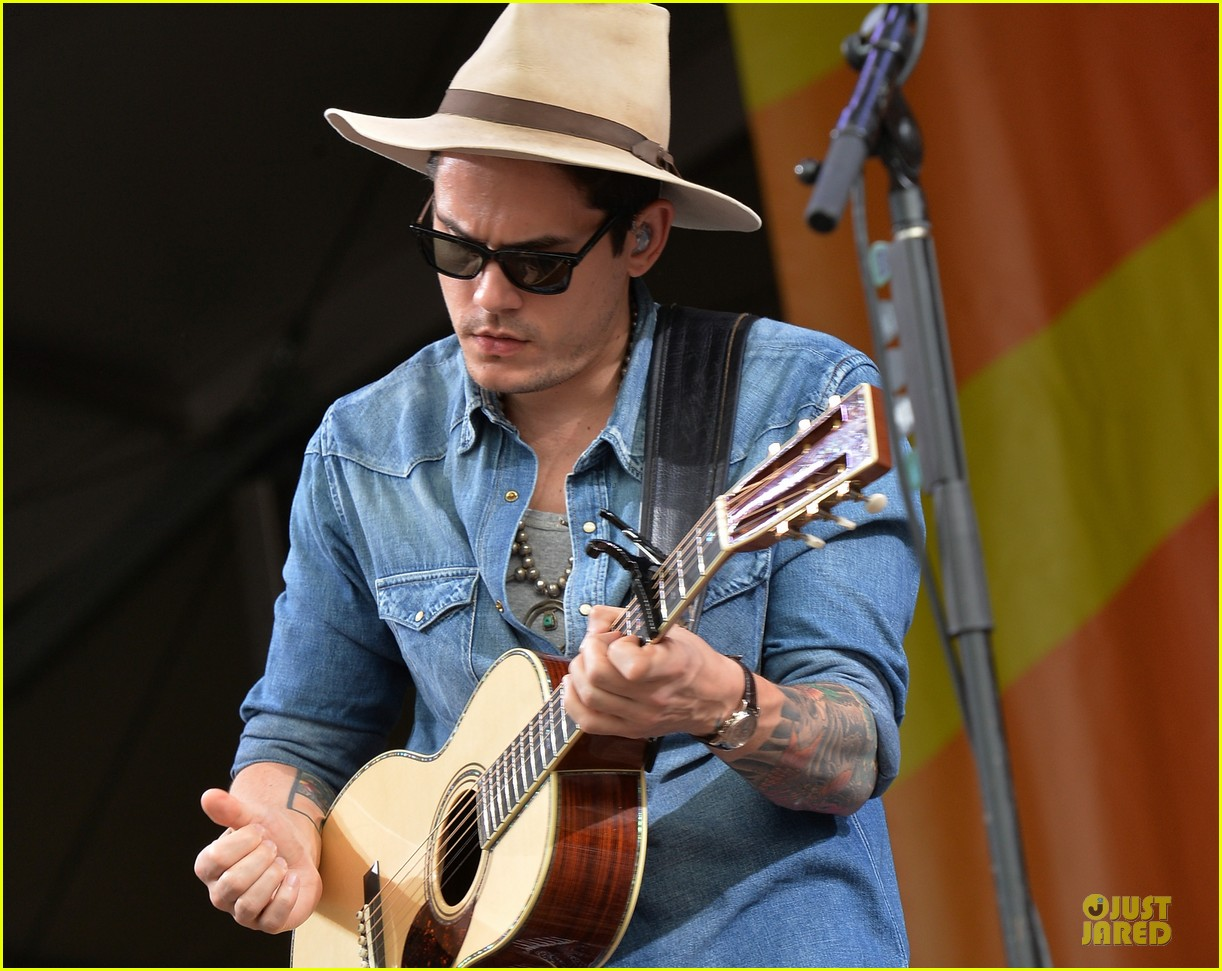 john mayer new orleans jazz heritage music festival 042859244